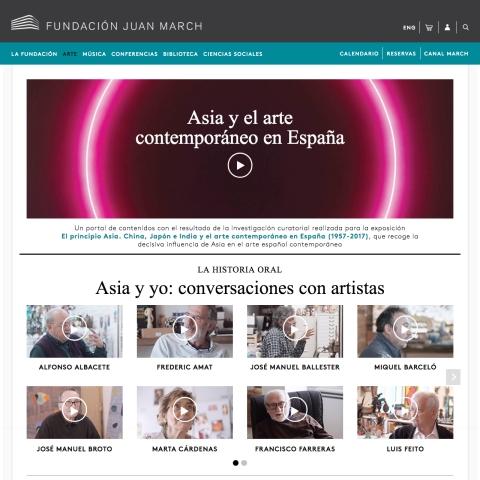 Asia y el arte contemporáneo en España [2018]. Biblioteca