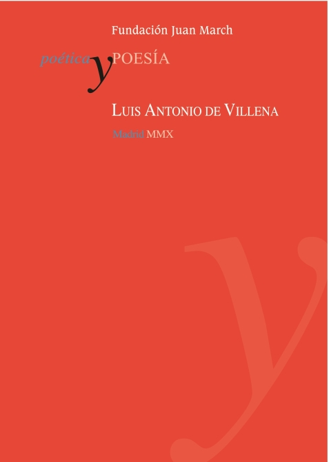 Luis Antonio de Villena [2010]. Biblioteca