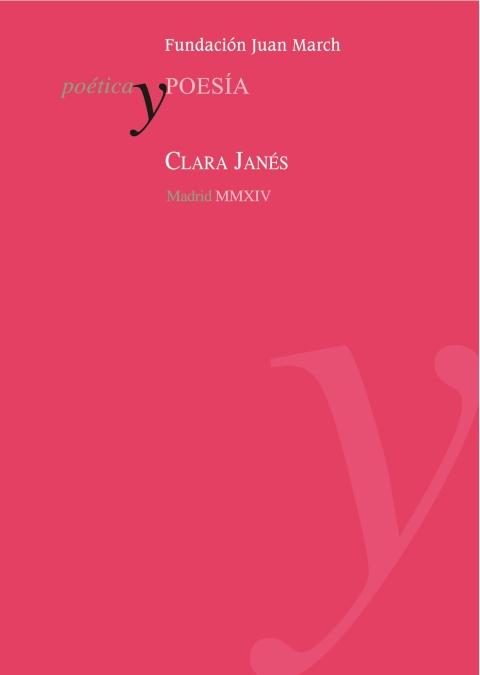 Clara Janés [2014]. Biblioteca