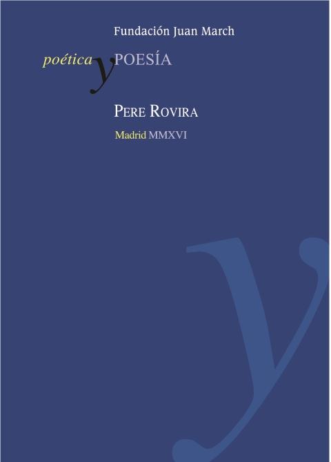 Pere Rovira [2016]. Biblioteca