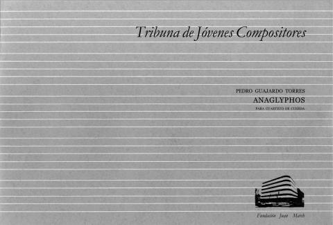 Anaglyphos : para cuarteto de cuerda [1982]. Biblioteca