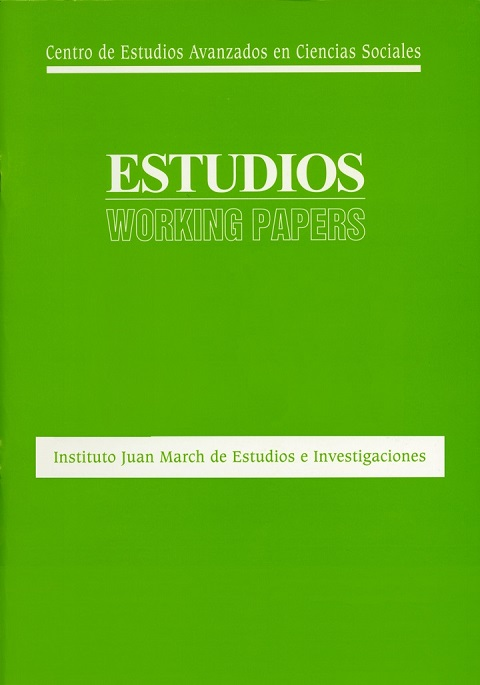 Works or union councils?: the representative system in medium and large sized Spanish firms [1993]. Biblioteca