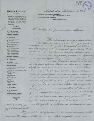 Cartas de Alejandro Sawa a Carlos Fernández Shaw.