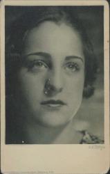Fotografía de una girl vienesa.