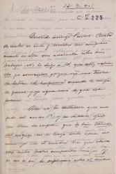 Cartas de Enrique Manso Torres a Carlos Fernández Shaw.