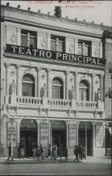 Fotografía de la fachada del Teatro Principal (Zaragoza).