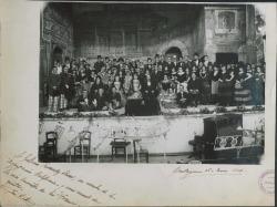 """Fotografía de """"Doña Francisquita"""" de Federico Romero y Guillermo Fernández-Shaw, música de Amadeo Vives. (Cartagena)."""