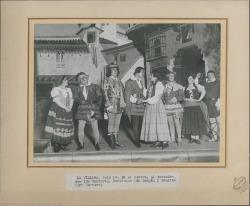 """Fotografía de """"La villana"""" de Federico Romero y Guillermo Fernández-Shaw, música de Amadeo Vives."""