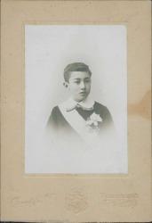 Fotografía de Guillermo Fernández-Shaw a los once años de edad.