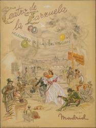 "Programa de mano de ""Doña Francisquita"" : Teatro de la Zarzuela (Madrid)."