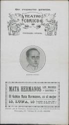 "Programa de mano de ""La Princesa Olalá"" : Teatro Cómico (Madrid)."