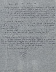 """Cartas de Francisco Balaguer a Guillermo Fernández Shaw relacionadas con la obra """"Con el ole y el olé""""."""