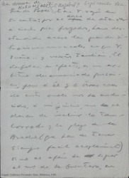 "Correspondencia relativa a ""La dama de Morumendi""."
