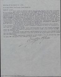 Correspondencia relacionada con representaciones de obras de Guillermo Fernández-Shaw entre 1941 y 1944.