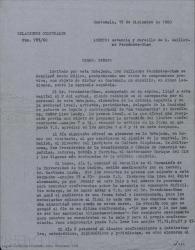 Cartas dirigidas a Guillermo Fernández-Shaw desde Guatemala en relación con su estancia allí, sus conferencias y otros temas.