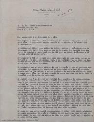 """Cartas a Guillermo Fernández-Shaw, relacionadas con la publicación de """"El nuevo viejo"""" en la """"Novela Decenal""""."""