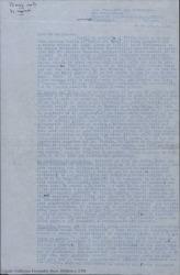 """Carta de Daniel a su hermano Guillermo Fernández-Shaw, proponiéndole un negocio teatral importante con el """"Teatro del Este"""" de Caracas."""