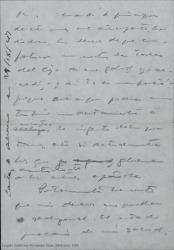 Borradores de cartas de Guillermo Fernández Shaw a varios destinatarios sobre diversos temas profesionales.
