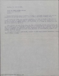 Correspondencia relacionada con la organización del homenaje a Carlos Fernández Shaw preparado por sus hijos con motivo del cincuenta aniversario de su muerte.
