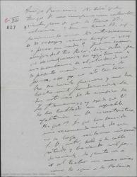 """Carta de Amadeo Vives a Federico Romero, regañándole por crear grandes expectativas sobre """"Los flamencos"""" por el riesgo que eso conlleva de desilusión del público ante el resultado final."""