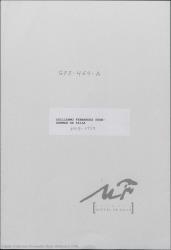 Cartas de Guillermo Fernández-Shaw a Germán de Falla.