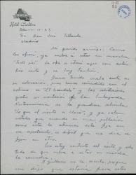 Ver ficha de la obra: Sixième étage. Español