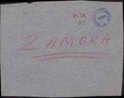 Cartas de José Zamora y su colaborador José Constantinides a Guillermo Fernández-Shaw, sobre una deuda de éste.
