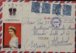 Carta de Encarnación Ruiz a Guillermo Fernández-Shaw, dando noticias de su gira.