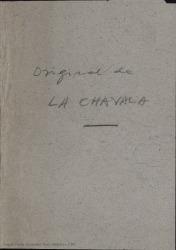 La chavala : zarzuela en un acto, dividido en 6 cuadros / Carlos Fernández Shaw.