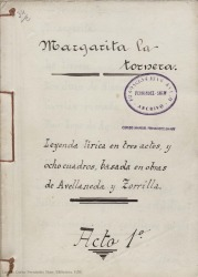 Ver ficha de la obra: Margarita la Tornera