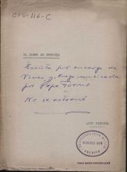 El cardo de Escocia : farsa lírica en dos actos / libro de Federico Romero y Guillermo Fernández-Shaw, música del maestro José Forns.