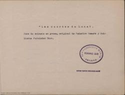 Los cuartos de luna : paso de sainete en prosa /original de Federico Romero y Guillermo Fernández Shaw.