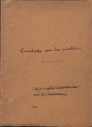 ¡Cuidado con la pintura! : sainete en tres cuadros, en prosa y verso / original de Federico Romero y Guillermo Fernández-Shaw. Música de Pablo Sorozábal.