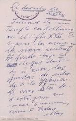 """El amparo del templo (una estampa de """"El derecho de asilo"""") / Guillermo Fernández-Shaw."""