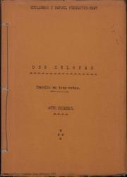 Don Celofán : comedia en tres actos / por Guillermo y Rafael Fernández-Shaw.