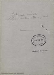 Gitana rubia : comedia en tres actos / original de Federico Romero y Guillermo Fernández-Shaw.