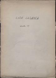 Loza lozana : zarzuela en tres actos / original de Federico Romero y Guillermo Fernández-Shaw, música del maestro Jacinto Guerrero.