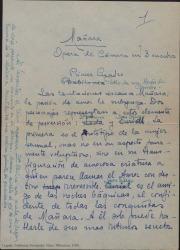 Miguel Mañara : ópera de cámara en tres cuadros / Original de José Andrés Vázquez, adaptación de Guillermo Fernández-Shaw.
