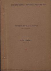 Montbruc se va a la guerra : opereta cómica en tres actos, divididos en seis cuadros, inspirada en una viejísima historieta / libro de Federico Romero y Guillermo Fernández-Shaw. Música de Juan Dotras Vila.