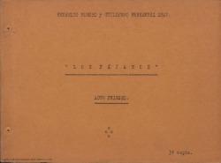 Los pájaros : comedia en tres actos, en verso /original de Federico Romero y Guillermo Fernández-Shaw.