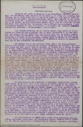 Pórtico / original de Miquel Saperas traducido por Guillermo Fernández-Shaw.