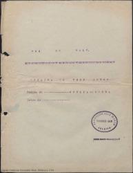 Por un vals : opereta en tres actos / música de Ofelia de Ochoa. Libro de Guillermo Fernández-Shaw.
