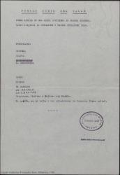 Pueblo Nuevo del Valle : poema lírico en dos actos, divididos en cuatro cuadros / libro original de Guillermo y Rafael Fernández-Shaw.