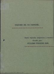 Romancero del Cid Campeador / nueva versión compuesta y escenificada por Guillermo Fernández-Shaw.