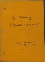 La Rosario ó la rambla de fin de siglo : sainete trágico en un acto / Federico Romero y Guillermo Fernández-Shaw.