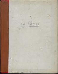 La saeta : zarzuela en un acto, cuatro cuadros y un intermedio original y en prosa / Guillermo Fernández-Shaw.