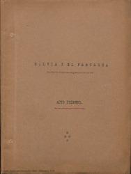Silvia y el fantasma / adaptación española por Guillermo Fernández Shaw de la comedia francesa de Alfred Adam, en tres actos.