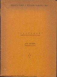 Talismán : comedia lírica en dos actos, en verso, inspirada en Guillem de Castro / libro de Federico Romero y Guillermo Fernández-Shaw. Música de Amadeo Vives.