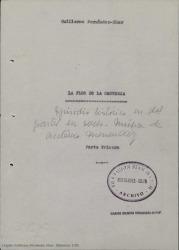 Tríptico del centenario / Guillermo Fernández-Shaw.