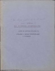 La cuerda granadina : guión de película / original de Guillermo y Rafael Fernández-Shaw.